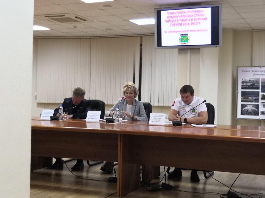 Глава управы района Наталья Романова провела 17 октября встречу с населением. Фото: Мария Иванова
